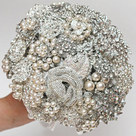 Non Floral Bouquet Brooch Bouquet Flowerdecorations Etsy2