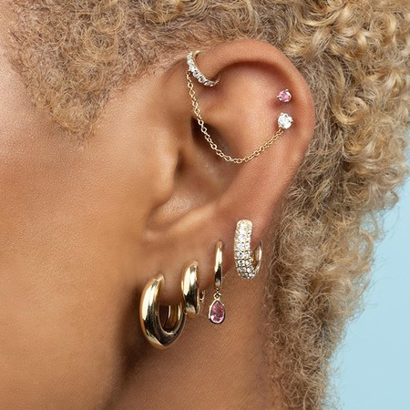 combinaciones pendientes oreja