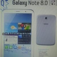 Se filtra una supuesta imagen del Samsung Galaxy Note 8.0