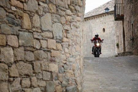 Honda Crossrunner en marcha