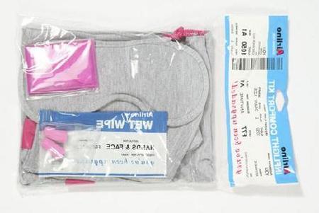 Kit de viaje para el avión