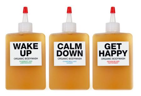 Geles de baño orgánicos para cada estado de ánimo