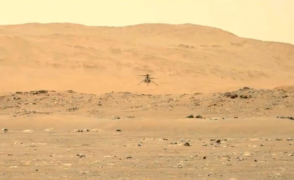 Ingenuity hace su segundo vuelo en Marte: por qué sus rotores giran cinco veces más rápido de lo que lo harían en la Tierra