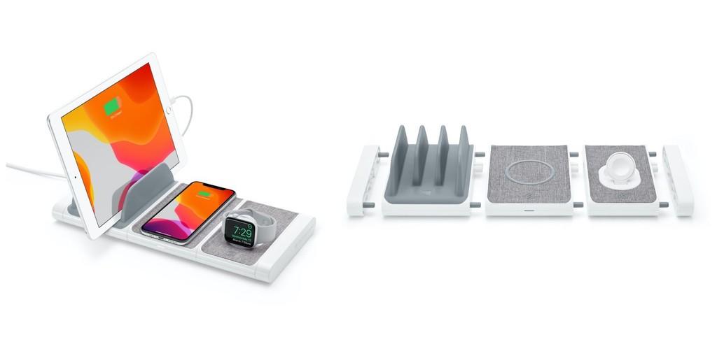 Scosche lanza un sistema modular de carga de iPhone, AirPods y Apple Watch como accesorio exclusivo de la Apple Store