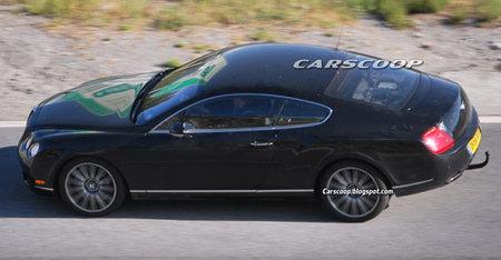 ¿Es esto un Bentley Continental GT híbrido?