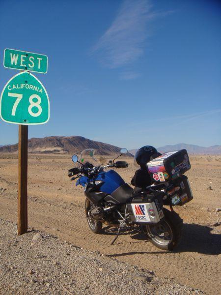 América en moto. Comienzo de un costa a costa