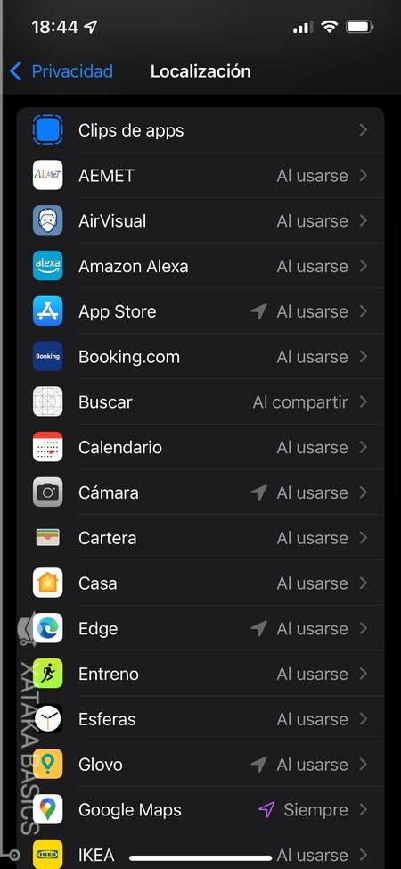 Lista Apps