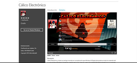 """Cálico Electrónico, humor """"Tipical Espanish"""" en Windows 8"""