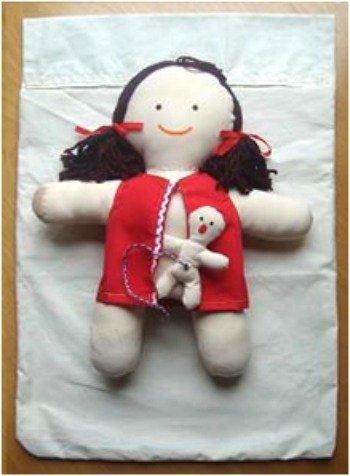 La muñeca que pare: taller en Migjorn