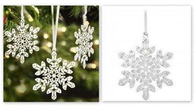 Decoración para el árbol de Navidad de Swarovski