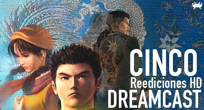 Cinco reediciones HD de clásicos de Dreamcast que deben llegar