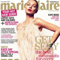 Kate Moss y la reconquista de las revistas, ahora es el turno de Marie Claire