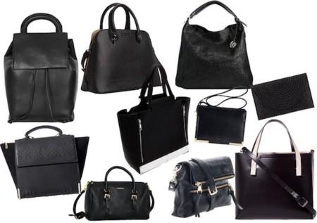 bolsos en negro verano 2014