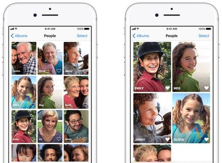 Cómo añadir y gestionar las caras de nuestras fotos en el iPhone