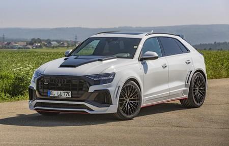 Lumma Desing tunea al nuevo Audi Q8: No apto para todos los gustos
