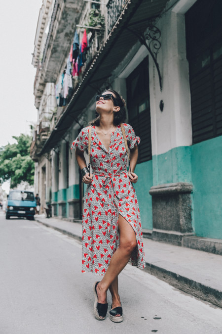 Cuba La Habana Vieja Hearts Dress Styled By Me Aloha Espadrilles Outfit Street Style Dress Backpack 14