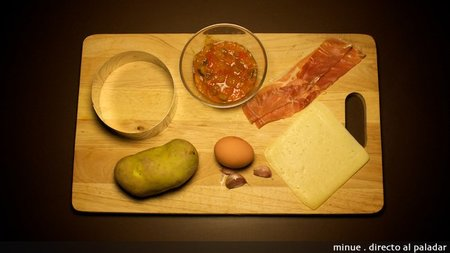 Huevos al plato - ingredientes