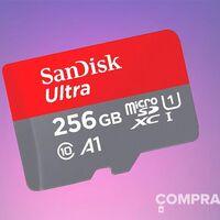 Almacenamiento para tu smartphone al mejor precio: esta Sandisk Ultra MicroSDXC de 256 GB sólo cuesta 30,99 euros en Amazon