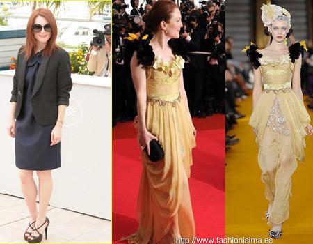 La alfombra roja del Festival de Cannes 2008. Première de Blindness