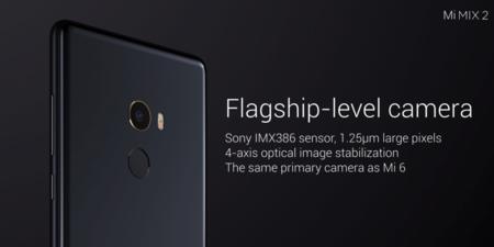 La cámara del Xiaomi Mi Mix 2