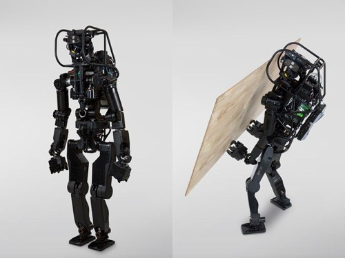 Contempla cómo trabaja HRP-5P, un robot obrero de la construcción