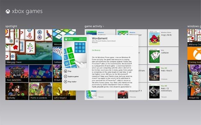Windows Xbox Games