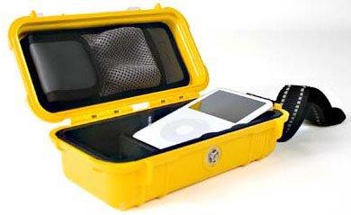 Funda de transporte hermética Pelican para el iPod