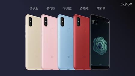 El nuevo Xiaomi Mi 6X