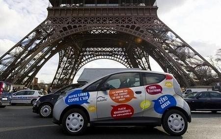 Dos Bollore Bluecar son víctimas de un incendio en París