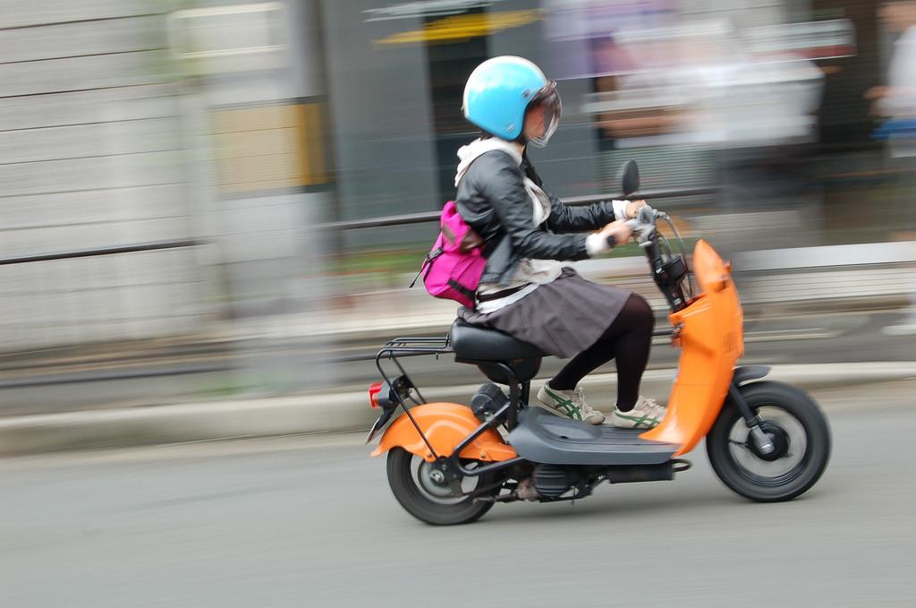 choi nori  scooter para el mercado japon u00e9s