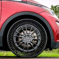 ¡Adios llantas ponchadas! Michelin ya tiene fecha para comenzar a vender sus neumáticos sin aire