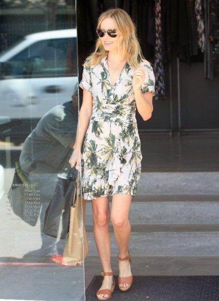 El look de Kate Bosworth es para todas. ¡Viva H&M!