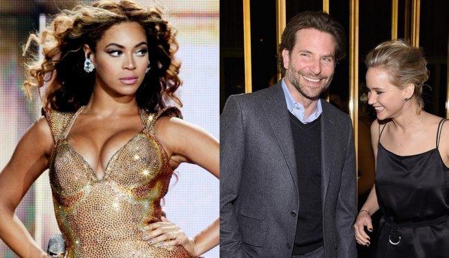 Beyonce y Bradley Cooper