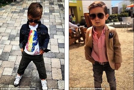 El niño de cinco años que triunfa en Instagram
