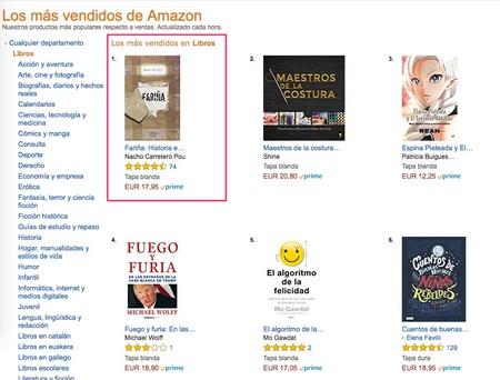 Amazon Es Los Mas Vendidos Los Productos Mas Populares En Libros