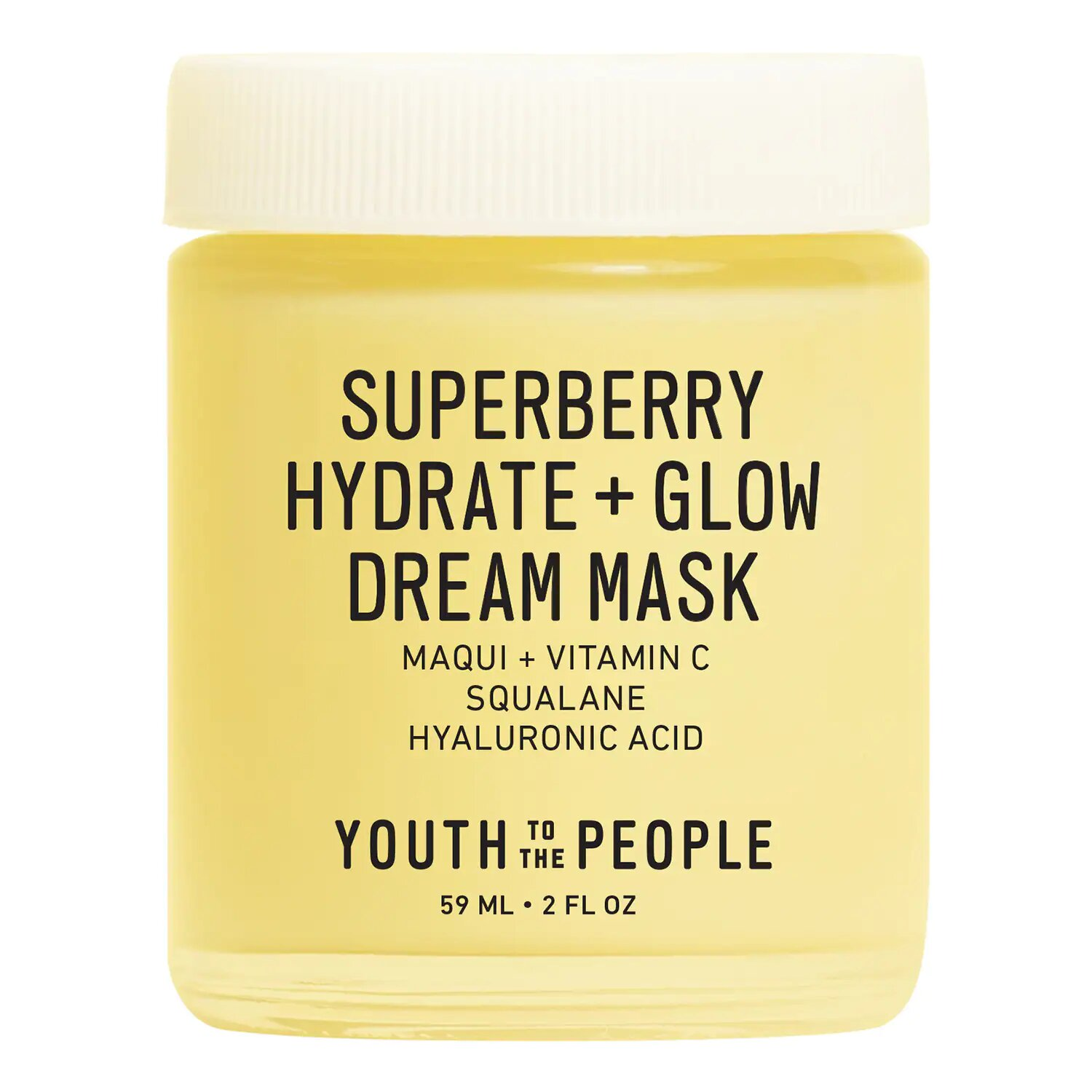 Superberry Hydrate + Glow Dream Mask Youth To The People