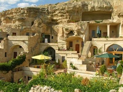 Una casa-cueva en Turquía: Hotel 4 Oda