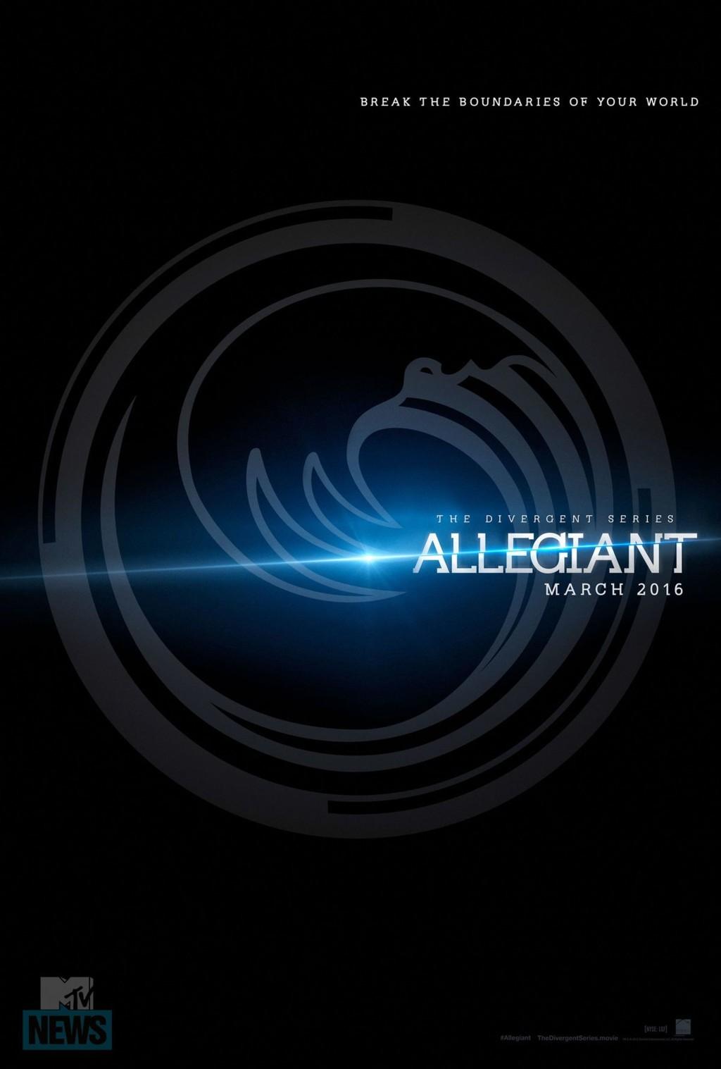Teaser póster de Allegiant