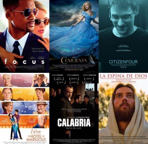 Posters de los estrenos de la semana