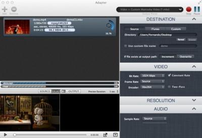 Adapter, no hay una forma más sencilla de convertir archivos multimedia: A Fondo