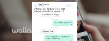 Conversar con un comprador de Wallapop es una de las experiencias más jodidas del siglo XXI
