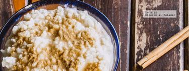 Arroz con leche tradicional. Receta