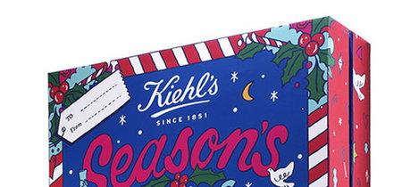 Kate Moross diseña el calendario de adviento de Kiehl's, ¡qué ganas de navidad!