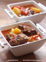 Gulash húngaro. Receta tradicional