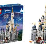 LEGO presenta el castillo Disney en un set de coleccionista increíble