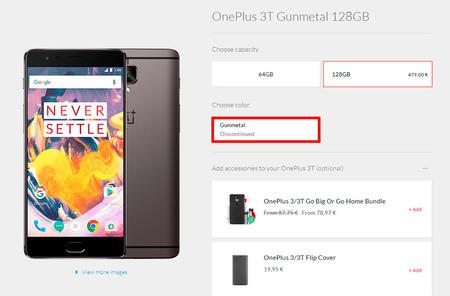 OnePlus 3T de 128 GB