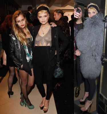 ¡Que Pixie Geldoff no se quite el abrigo!