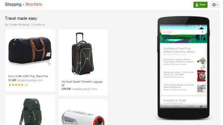 Google Now nos mostrará productos que buscamos, ¿lo puede aprovechar tu negocio?