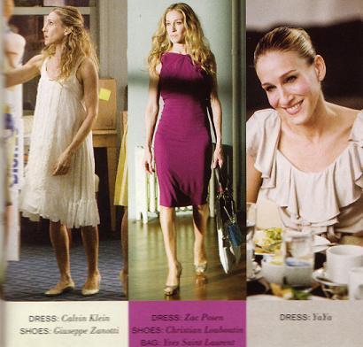 Todos los estilismos de la película de Sexo en Nueva York. Carrie.