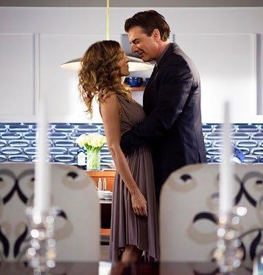 La casa de Big y Carrie, entramos hasta la cocina, el salón y cómo no, el vestidor